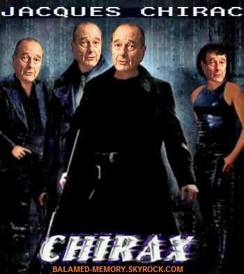 HUMOUR DE LA SEMAINE  : Jacques Chirax