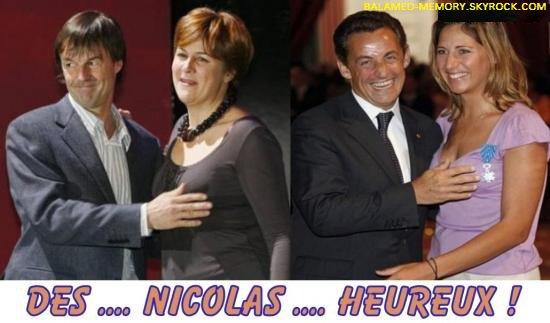 HUMOUR DE LA SEMAINE : Des Nicolas heureux