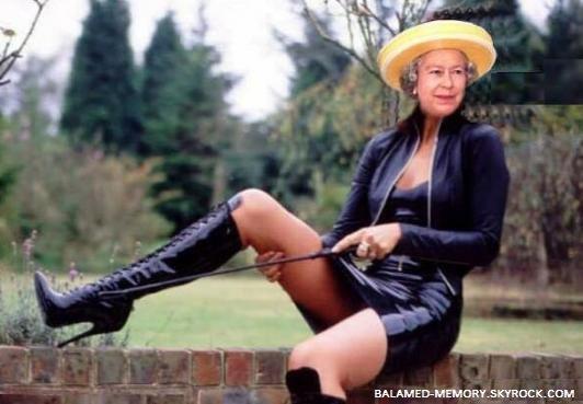 HUMOUR DE LA SEMAINE : La Reine Elisabeth II en cuir