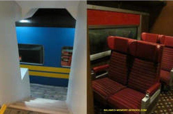 INFOS-INSOLITE : Obsédé par les trains, il en construit un dans sa cave
