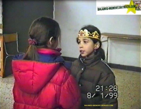 PERSO DE LA SEMAINE : Estelle en Janvier 1999