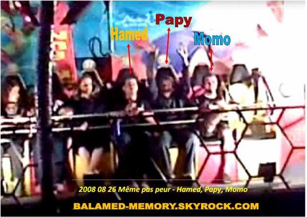 PERSO DE LA SEMAINE : Meme pas peur - Hamed,Papy,Momo