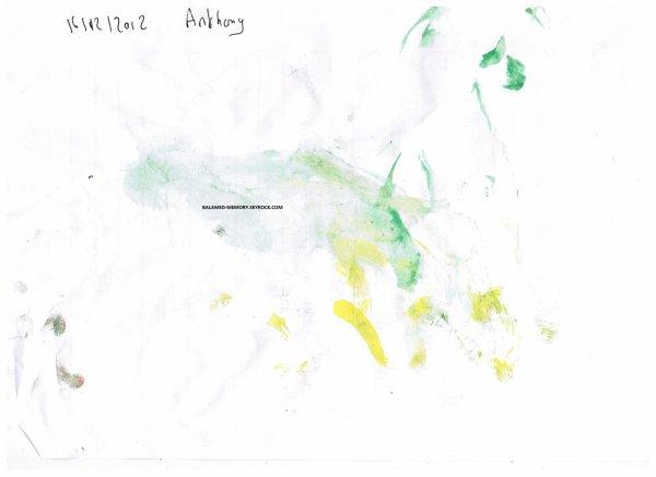 PERSO DE LA SEMAINE : Peinture de Anthony en Décembre 2012
