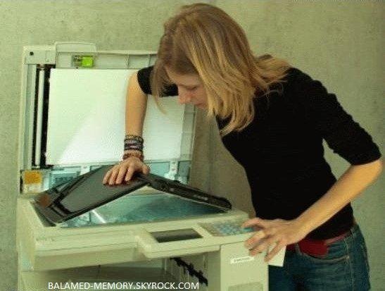 BLAGUE DE LA SEMAINE : Reconnaissance d'imprimante