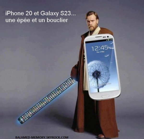 HUMOUR DE LA SEMAINE : iPhone 20 et Galaxy S23