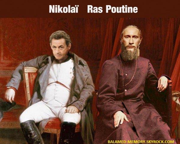 HUMOUR DE LA SEMAINE : Nikolaï Ras Poutine