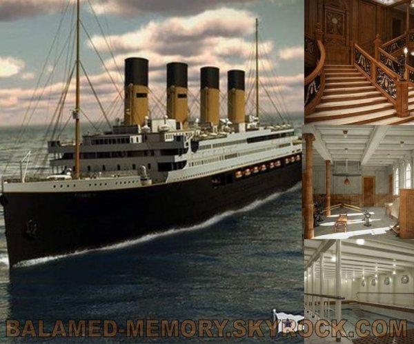 INFO-INSOLITE : Titanic 2  Une réplique du célèbre paquebot va être construite