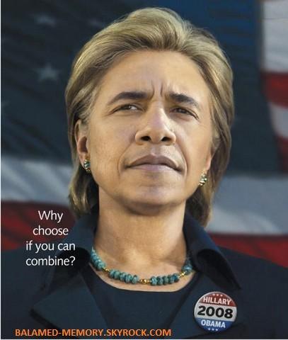 HUMOUR DE LA SEMAINE : Hilary Obama