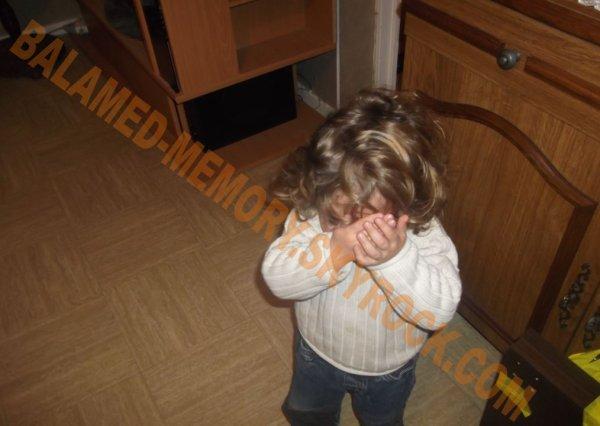 PERSO DE LA SEMAINE : Anthony qui boude en Novembre 2012