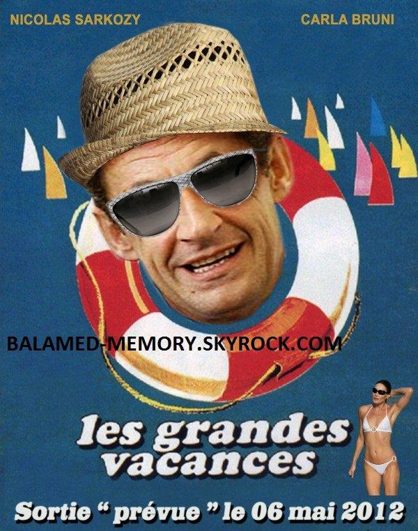 HUMOUR DE LA SEMAINE : Les grandes vacances de Sarkozy