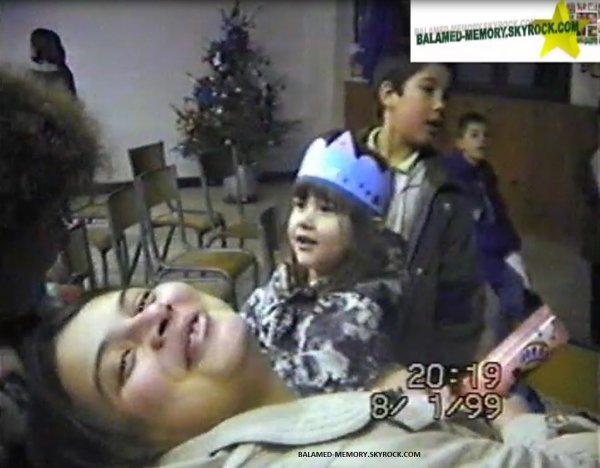 PERSO DE LA SEMAINE : Desbordes Nathalie,Jonathan,Laura en Janvier 1999