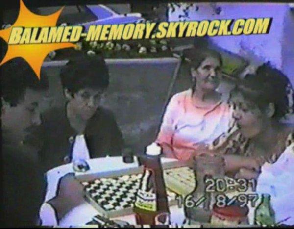 PERSO DE LA SEMAINE : Ma mère Zouina avec ma tante en 1997