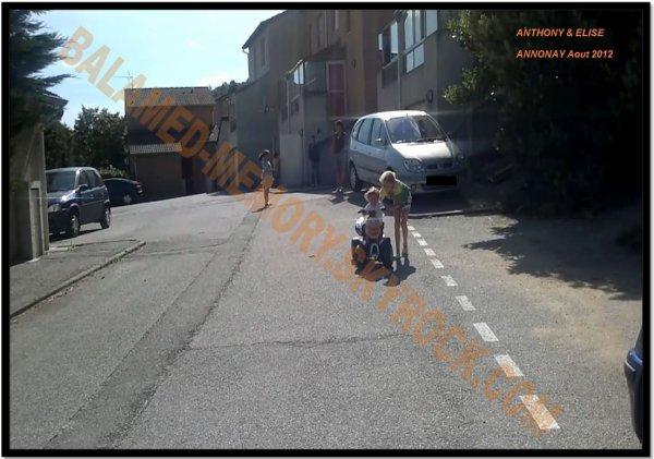 PERSO DE LA SEMAINE : Anthony et Elise en Août 2012