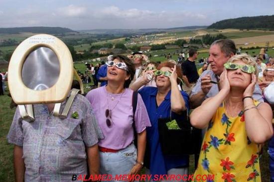HUMOUR DE LA SEMAINE : Au chiotte l'éclipse