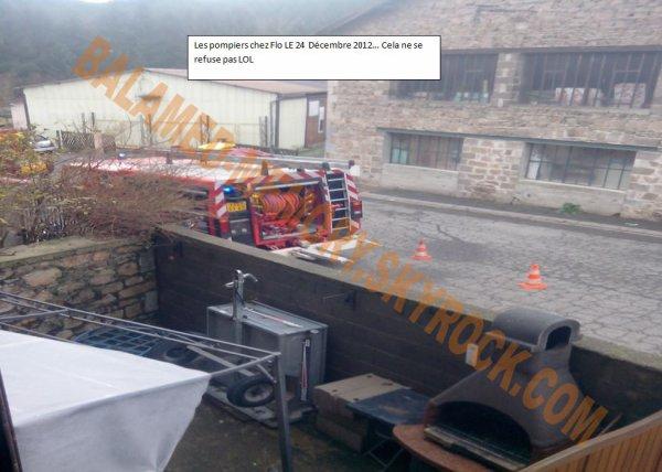 PERSO DE LA SEMAINE : Les pompiers chez Flo