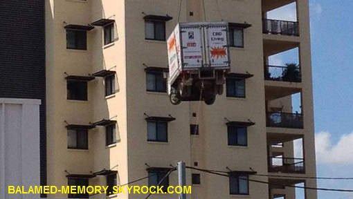 INFOS-INSOLITE : L'histoire du camion volant