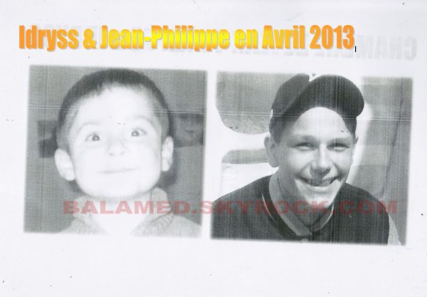 Idryss & Jean-Philippe en Juin 2013