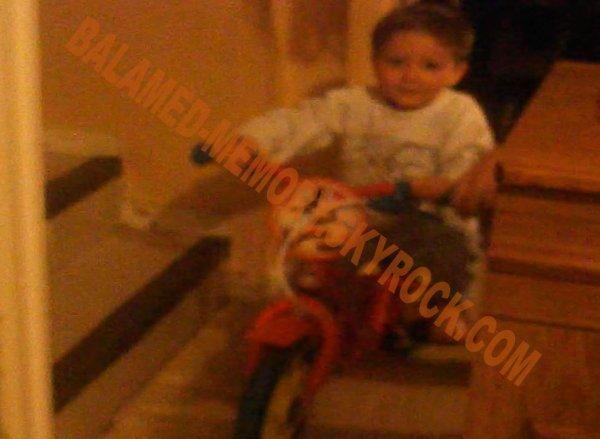 PERSO :  Anthony fait du vélo en Mai 2013