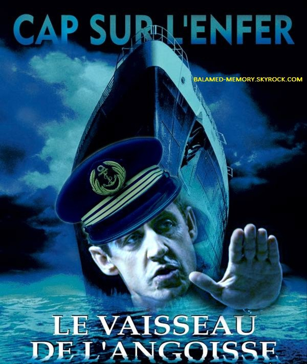 HUMOUR : Capitaine abandonné...