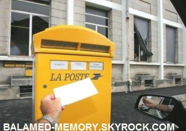 FAIT DIVERS : Bagnols-sur-Cèze  le facteur brûlait le courrier