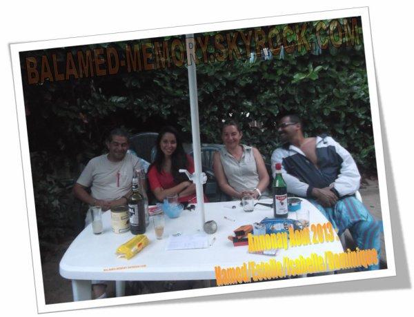 PERSO : Moi, Ma Fille, Isa & Dominique en Août 2013