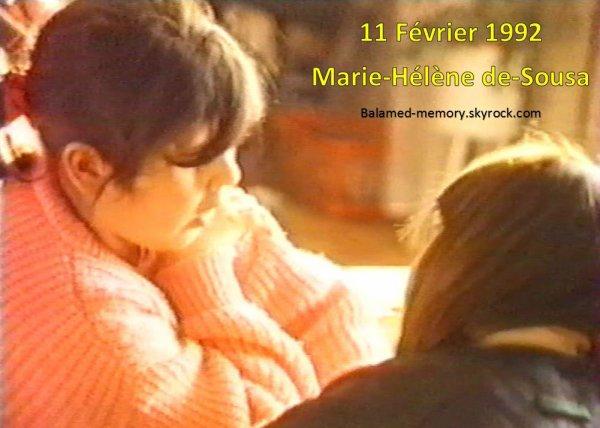 PERSO : Marie Hélène a la Vidalie (63) en 1992