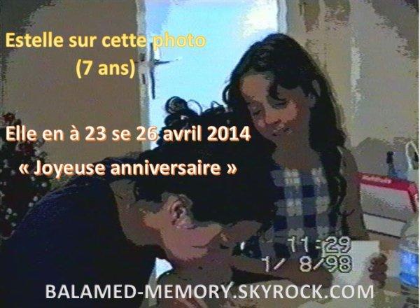 PERSO : Estelle 23 ans Aujourd'hui