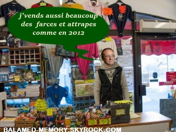 HUMOUR : Hollande marchand d'attrappes