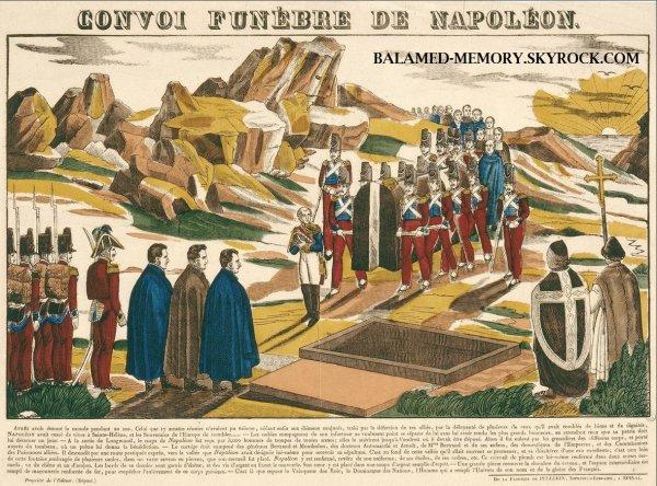 HISTOIRE : Le convoi funèbre de Napoléon