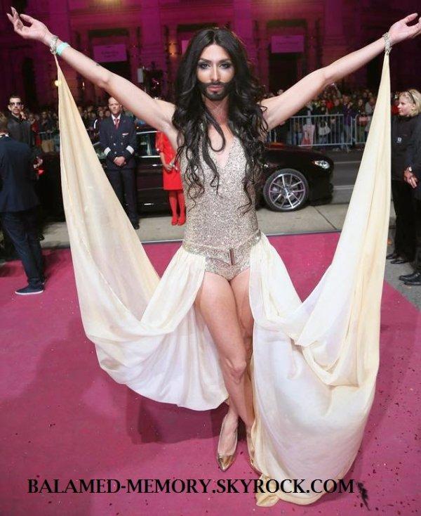 Actualité : Un travelo barbu remporte l'Eurovision