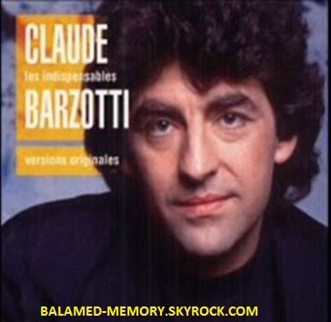 MUSIQUE : Claude Barzotti - Je ne t'écrirai plus