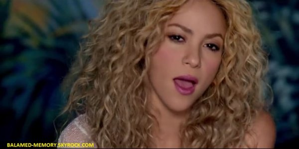 MUSIQUE : Shakira - Can't Remember to Forget You ft.