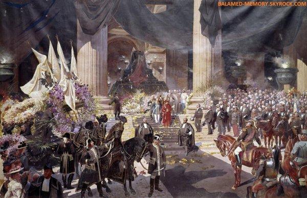 HISTOIRE : Funérailles du Président Sadi Carnot célébrées au Panthéon, le 1er juillet 1894.