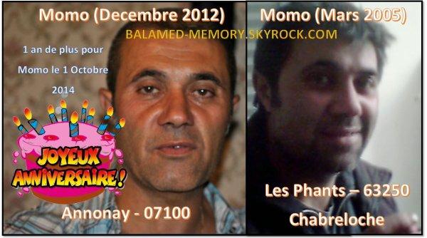 Perso : Momo en 2005 & 2012