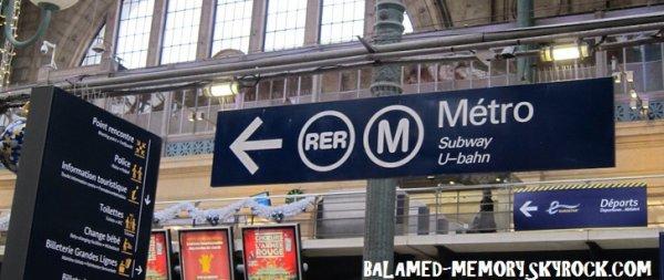 LE SAVIEZ VOUS ? : LE RER PARISIEN DEVAIT S'APPELER MERDE !