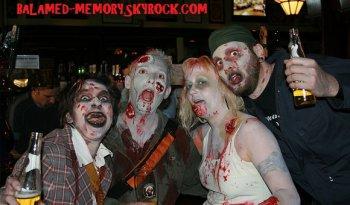 les records les plus incroyables : Le plus grand rassemblement de zombies du monde