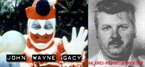 FANTÔME/PARANORMALE/SOCIÉTÉ : John Wayne Gacy, clown tueur aux 33 meurtres