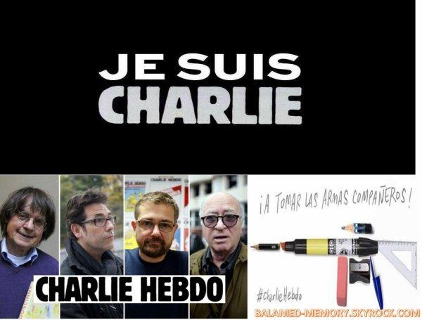 DIVERS : Je suis Charlie