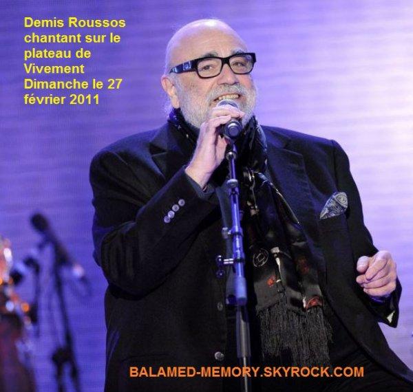 MUSIQUE & ACTUALITÉ MUSICALE : Mort de Demis Roussos : 6 choses que vous ne saviez pas sur le chanteur disparu