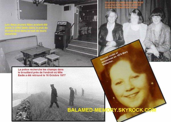 HORREUR/CRIMES : Le tueur en série et pédophile Angus Sinclair a été emprisonné à vie pour l'assassiner et le viol de deux jeune fille de 17 ans en 1977.