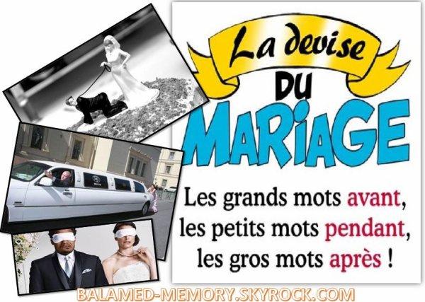BLAGUE : Comment un enfant a ruiné un mariage