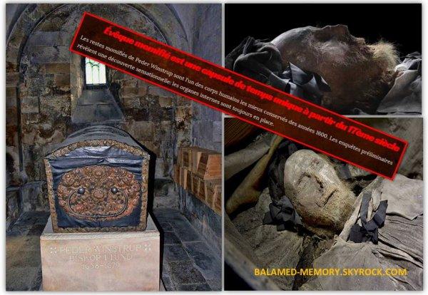 HORREUR/CRIMES : Évêque momifié est une capsule de temps unique à partir du 17ème siècle