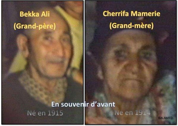 PERSO : Il y a 100 ans naissait ma grand-mère & mon grand père