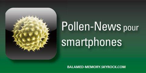 SAVOIR & CONSEILS : Nouvelle application pour les personnes allergiques au pollen
