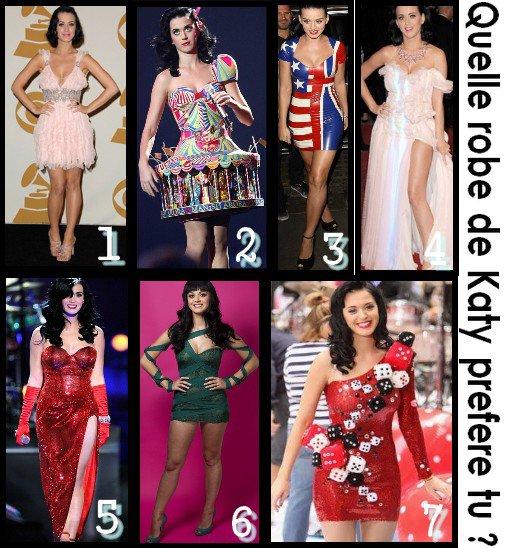 Garde robe de Katy.