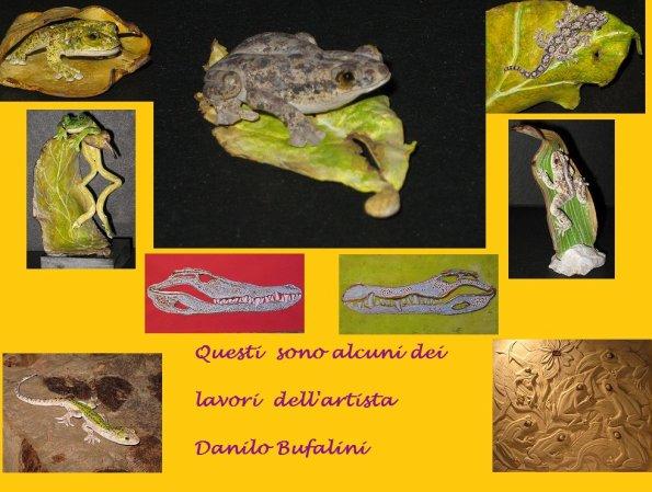 Artista Danilo Bufalini omaggio
