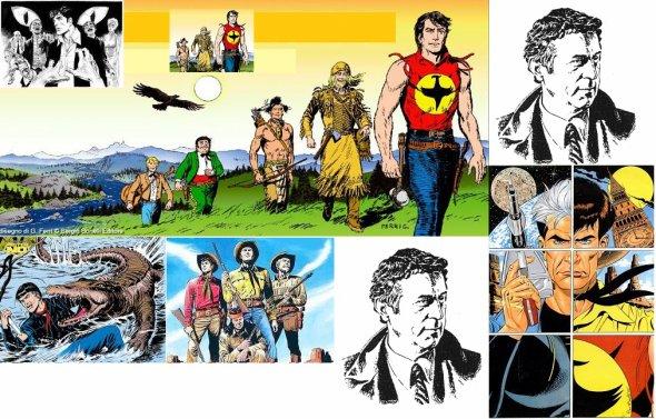 Sergio Bonelli Editore e fumettista (genio). Milano 2 dic.1932-Monza 26 sett.2011