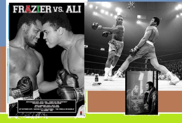 Joe Frazier addio,ha disputato il match del secolo ..........