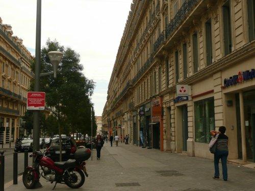 rue de la République   photo marseillepassion du 23 sept 2010 et fin de la ballade