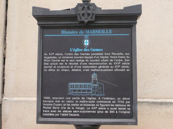 histoire de l'église des Carmes